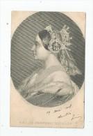 Cp , FAMILLE ROYALE , S.A.I. LA PRINCESSE MATHILDE , Dos Simple , Voyagée 1905 , Ed : D.L. - Koninklijke Families