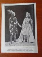 Hungary Theatre - Edmond Rostand - La Princesse Lointaine -Allamanon -Melisside-  1904- Hungarian Print  S0258 - Historical Documents