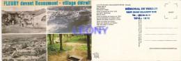CPM De FLEURY Devant DOUAUMONT - Village Détruit - Vues Diverses - CACHET MEMORIAL N° 559 287 - Douaumont