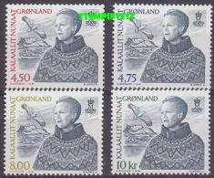 Greenland 2000 Queen 4v ** Mnh (21132) - Greenland