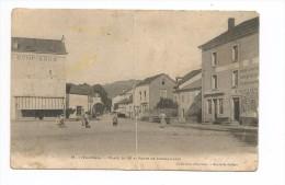 LE VAL D´AJOL -FAYMONT -place  Du So Et Route De Corravillers - Autres Communes
