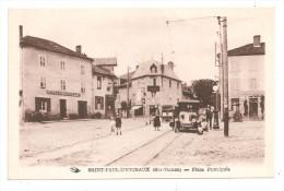 St.Paul-D´Eyjeaux-Place Principale- Hôtel Girodolle -(A.6318) - Francia