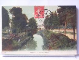 MELUN (77) - VUE SUR L'ALMONT - ANIMEE - Melun