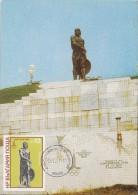 Bulgaria Maxi Card Olympic Games MOSCOW 1980 -  Olympic Emblem  / Olympic Fire - Carte Maximum - Zomer 1980: Moskou