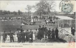 Carte Postale Bordeaux 33 Gironde - 6 - BORDEAUX Vécu - Courses De Talence - Une Arrivée  - 1907 - Bordeaux