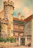 70. Luxeuil Les Bains. La Tour Du Bailli . Carte Illustrée - Luxeuil Les Bains