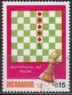Nicaragua, 1983 - 15c Pawn - Nr.1276 Usato° - Nicaragua