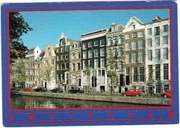 Amsterdam: CITROËN AX, VW GOLF II, RENAULT 5, VOLVO ESTATE  - Herengracht -  Holland - Turismo