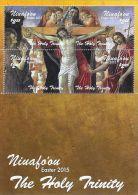 tou1502s1 Niuafo'ou 2015 Easter Painting Renaissance artist Sandro Botticelli s/s