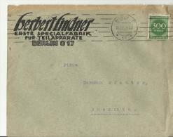 =DR  CV  192? BERLIN - Briefe U. Dokumente