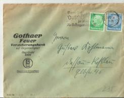 =DR  CV  1936 SST MAGDEBURG - Storia Postale