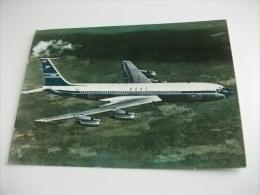 AEREO IN VOLO BOEING 707 B.O.A.C.  SVIZZERA - 1946-....: Moderne