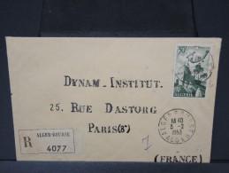FRANCE- ALGERIE ENVELOPPE RECOMMANDEE POUR LA FRANCE 1953  A VOIR  LOT P3641 - Algeria (1924-1962)