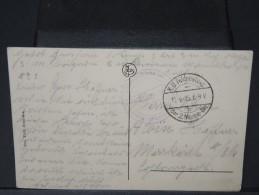 BELGIQUE - OBL DE MARINE ALLEMANDE 1915 SUR CP  D OSTENDE A VOIR  LOT P3644 - WW I