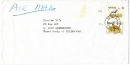 RSA - South Africa - Sud Africa - SUID AFRIKA - 1998 - Bird, Antelope - Air Mail - Viaggiata Da Durmail Per Luxembourg - Sud Africa (1961-...)