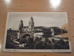 Köln A. Rhein Hohenzollernbrücke Germany - Koeln