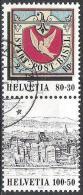 Zusammendruck 1995: Zu Z99 Aus Block Mit O ERLENBACH (Zu CHF 8.00) - Se-Tenant