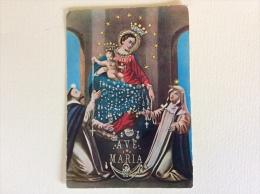 Maria SS Del Rosario Di Pompei Viaggiata F.g. - Vergine Maria E Madonne