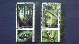Rumänien 6522/3 Oo/ESST, EUROPA/CEPT 2011, Wald - 1948-.... Republiken