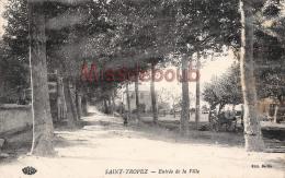 (83) SAINT ST TROPEZ - Entrée De La Ville - 2 SCANS - Saint-Tropez