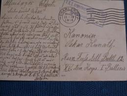 """""  CPA  1915  CHARLEROI   / MACHINE  INTERNATIONALE  SUMMPY  Cie  -  Cahet  Bataillon  """" - Otros"