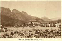 MADAGASCAR AMBALAVAO Au Sud De FIANARANTSOA Dômes Granitiques (Service Photographique Madagascar) - Fiches Illustrées