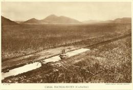 Creusement Du Canal RAGHIA-HATIEN Cochinchine VIET NAM (Agence Economique Indochine) - Fiches Illustrées
