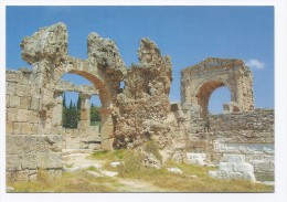 Arc of triumph At Tyr, postcard Lebanon  , carte postale Liban tyre
