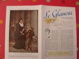 Le Glaneur Français. Revue Illustrée Artistique Littéraire. Années 1920. Jean Bertheroy, Blanche Montel, Cot Mireille - Libri, Riviste, Fumetti