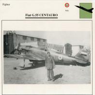 FIAT  G. 55  CENTAURO    (NUOVO CON DESCRIZIONE   E SCHEDA  TECNICA) - 1939-1945: 2. Weltkrieg