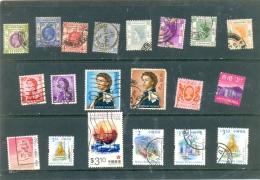 "Petit Lot "" HONG KONG "" - 20 Différents - Voir Scan. - 1997-... Chinese Admnistrative Region"