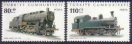 2010 TURKEY LOCOMOTIVES MNH ** - Nuevos