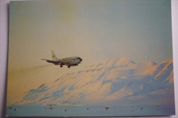 AIRLINES ISSUE / CARTE COMPAGNIE       BRAATHENS SAFE  B 737 200 - 1946-....: Ere Moderne
