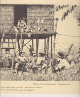 TRANSMISSION Carton   Représentant Une Station Radio Opérationnelle : INDOCHINE 1952 - Militaria