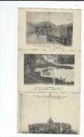 65 Lourdes 1924  Lot 8CP Colonie Fraternelle Paris XVIII éme Paques Pelerinage Tout Scanné - Lourdes