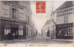 ERMONT - Route De Pontoise. - Ermont