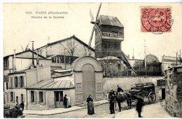 PARIS 18  MONTMARTRE  MOULIN DE LA GALETTE - Arrondissement: 18