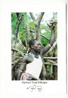 Ethiopie - Portrait From Ethiopia - Man Inthe Market Of Key Afar - Ethiopie