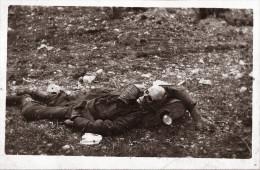 SOLDAT ALLEMAND MORT AU FRONT MASQUE A GAZ - Aviazione