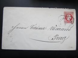 GANZSACHE Klagenfurt - Prag Stempel!! //D*15977 - 1850-1918 Imperium