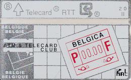 BELGIUM - Belgica, ATM & Telecard Club, CN : 004G, tirage 1000, mint