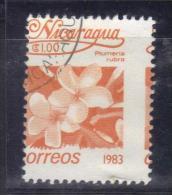W2765 - NICARAGUA 1983 , Un Valore Con Dentellatura Molto Spostata. Usato - Nicaragua