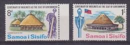 Samoa 1967 Seat Of Government 2v ** Mnh (21165) - Samoa