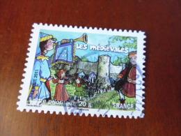FRANCE OBLITERATION Ronde  Sur Timbre    YVERT N°569 - Adhésifs (autocollants)