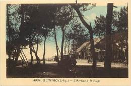 Depts Div - Loire Atlantique -ref AA147 - Quimiac - L Arrivee A La Plage -  Villa - Villas -  Voiture - Carte Bon Etat - - Mesquer Quimiac