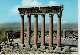 LIBANO:   BAALBECK   LES SIX COLONNES DU TEMPLE DE JUPITER    (NUOVA) - Libano