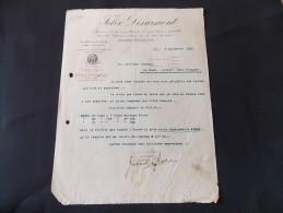Milano Felix Desurmont Filatura Di Lane Pettinate D Ogni Tipo E Qualita Milano Tourcoing 1916 - Italie