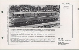 CC 20002 RARE FICHE DOCUMENTAIRE LOCO REVUE N° 352 JUIL.1971 - Books And Magazines