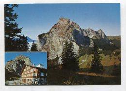 SWITZERLAND  - AK 227499 Neues Berggasthaus Holzegg 1407 M Mit Gr. Und Kl. Mythen - SZ Schwyz