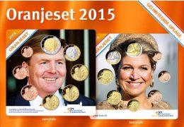 @Y@ Nederland  Oranje Set 2015      UNC  All 8 Coins. - Pays-Bas